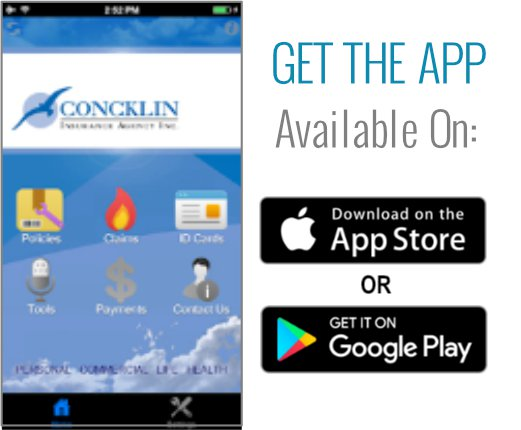 Download the Concklin Mobile App today!